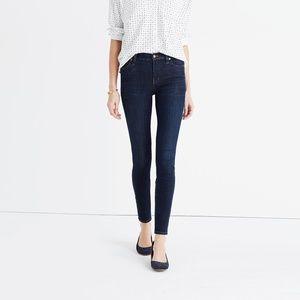 "MADEWELL 9"" High Rise Skinny Blue Jeans Denim 29"